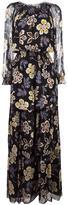 Tory Burch Indie maxi dress - women - Polyester/Silk/Cotton - 4