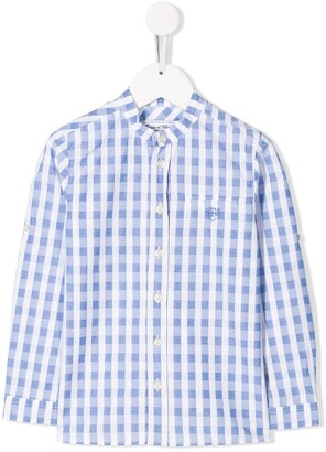 Tartine et Chocolat Check Print Shirt