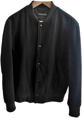 MHI Black Wool Jackets