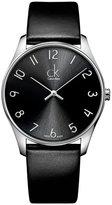 Calvin Klein K4D211CX 38mm Stainless Steel Case Leather Mineral Men's Watch