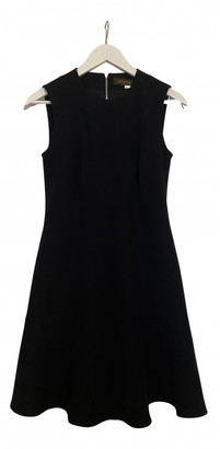 Louis Vuitton Navy Polyester Dresses