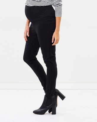 Angel Maternity Maternity Fitted Slim Work Pants