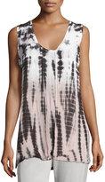 XCVI Navya Tie-Dye Sleeveless Top, Tropical