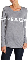 Chaser Peace Front Graphic Long Sleeve Tee