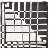 """Tom Ford Printed Silk Pocket Square, 15.5"""" x 15.5"""""""