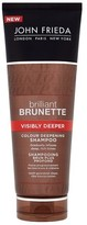 John Frieda Brilliant Brunette Visibly Deeper Shampoo 250ml