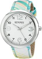 Sperry Women's 10014920 Sandbar Analog Display Japanese Quartz Green Watch