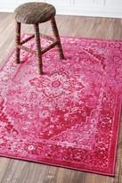 nuLoom Vintage Reiko Rug - Pink
