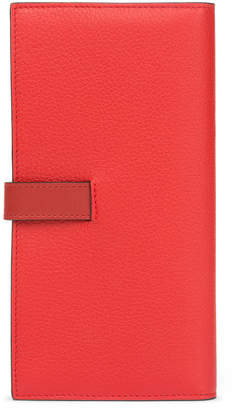 Loewe Colorblock Leather Continental Wallet