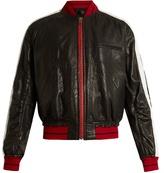 Haider Ackermann Kills leather bomber jacket