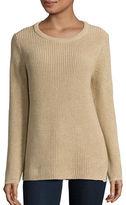 Calvin Klein Crewneck Metallic Knit Sweater