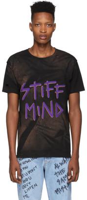Faith Connexion Black NTMB Bleach T-Shirt