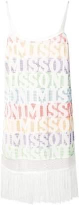 Missoni Mare logo tassel dress