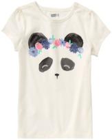 Crazy 8 Sparkle Panda Tee