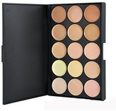 Pure Vie Professional 15 Colors Cream Concealer Camouflage Makeup Palette Contouring Kit #2 - Ideal for Pro and Daily Makeup