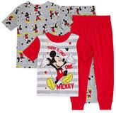 Disney 4-pc. Mickey Mouse Pajama Set Boys