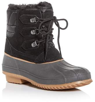 Khombu Women's Laura Waterproof Duck Boots