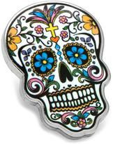 Ice Day of the Dead Skull Lapel Pin