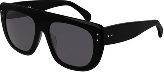 Alaia Rectangle Acetate Sunglasses