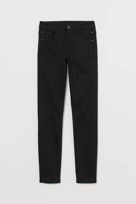 H&M Push-up Shaping High Jeans - Black