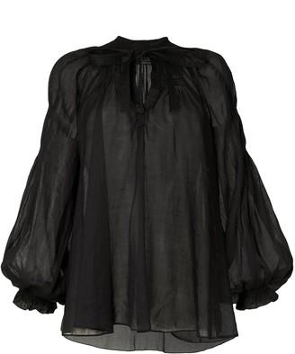 Lee Mathews Soma ramie blouse