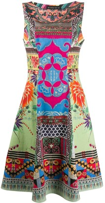 Etro Sleeveless Patchwork Print Dress