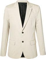 Ami Alexandre Mattiussi classic blazer - men - Cotton/Linen/Flax/Acetate - 46