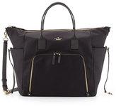 Kate Spade Hildy Classic Nylon Baby Bag, Black