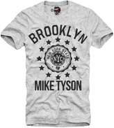 E1syndicate T-Shirt Iron Mike Tyson Holyfield Dope Blooklyn Gym Boxen Grey S/M/L/Xl