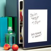 Wallies Peel-and-Stick White Dry Erase Board