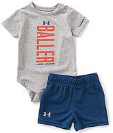 Under Armour Baby Boys Newborn-12 Months Baller Bodysuit & Solid Shorts Set