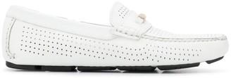 Baldinini perforated loafers