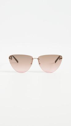 Stella McCartney Stella Essentials Cat Eye Sunglasses