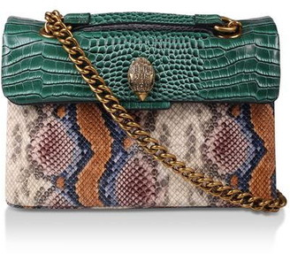 Kurt Geiger Leather Kensington X Bag Shoulder Bags