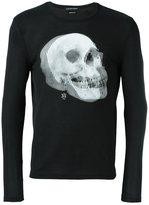 Alexander McQueen skull print sweatshirt