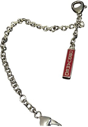 DSQUARED2 Silver Metal Belts