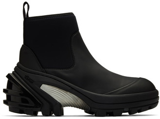 Alyx Black Fixed Sole Mid Boots