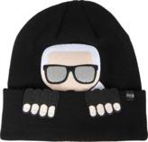 Karl Lagerfeld k/ikonik beanie