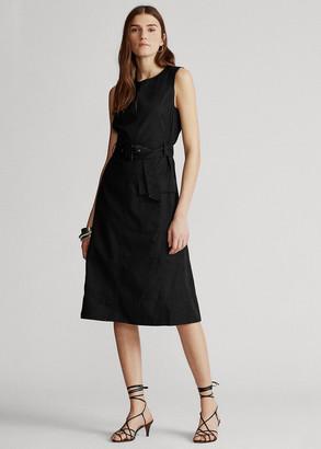 Ralph Lauren Belted Chino Dress