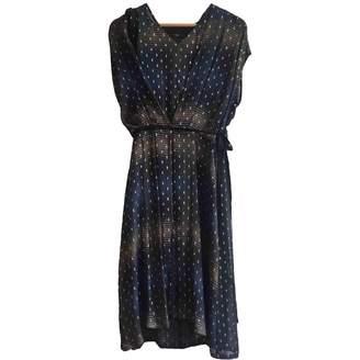 Pas De Calais Blue Silk Dress for Women