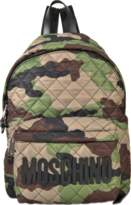 Moschino Nylon Quilted Backpack