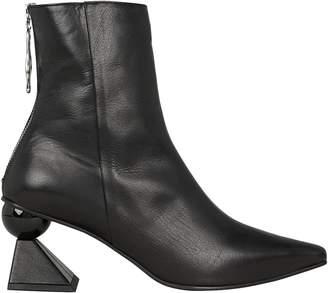 YUUL YIE Amoeba Glam Abstract Heel Booties