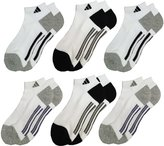 adidas Men's Low Cut Sport Socks, 6 Pack, Shoe Size 6-12