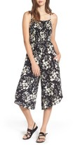 Mimichica Women's Mimi Chica Smocked Floral Jumpsuit