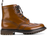 Church's brogue detail boots - men - Leather/rubber - 6