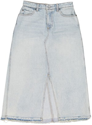 Alexander Wang Blue Cotton Skirt for Women