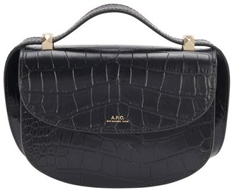 A.P.C. Mini Geneve bag crocodile effect