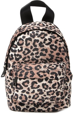 Madden-Girl Leopard Nylon Mini Backpack