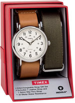 Timex Men's Weekender Multi Strap Watch Set