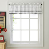 JCPenney Lorraine Adirondack Rod-Pocket Tailored Valance